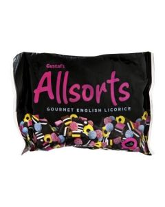 Gustaf licorice allsort 12/14.1 (3 pcs)