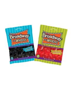 Broadway on Wheels Licorice 5.29oz Bag (5 pcs)