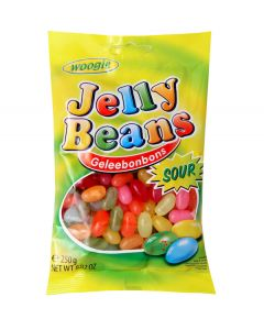 Dutch Jelly Beans Sour Assortment 250g Bag (2 Lbs)