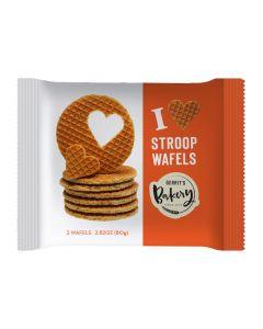 Gerrit's Bakery Stroopwafels Duo 2 Waffles 2.8oz (Caramel waffle) (10 pcs)