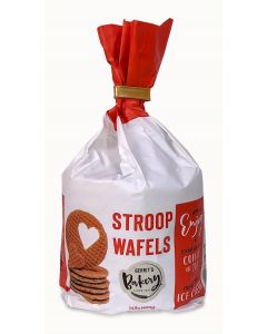 Gerrit's Bakery Stroopwafels Standup Bag 14.11oz (Caramel waffle) (2 pcs)