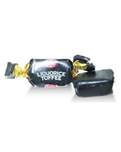 Irish Black Liquorice (licorice) Toffee (2 Lbs)