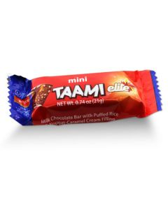 Taami Milk Chocolate  Puffed Rice & Caramel (18 pcs)