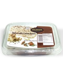 Sesame Halva with Cocoa Beans Tub 16oz (2 pcs)