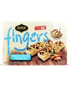 Sugar Free Almond Sesame Halva Fingers (NO Box) (1 Lbs)
