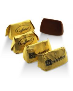 Mini Gianduitto Super Smooth Milk Chocolate Gianduia And Piadmontese Hazelnuts In Gold Wrapper (75 p