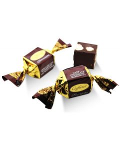 Dark Chocolate Velvety Fondant Gianduia With Whole Piadmontese Hazelnuts Nocciolotto (30 pcs)