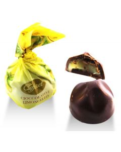Limoncello Liquor In Dark Chocolate Praline (25 pcs)
