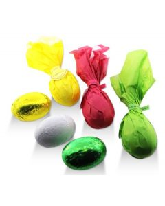 Papillon Chocolate Eggs Wrapped Butterflies (40 pcs)