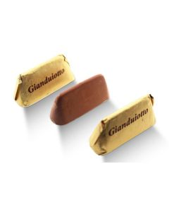 Italian Gold Gianduiotto Smooth Blend of Milk Chocolate w/ Rst Hazelnut Butter (Gianduia) (50 pcs)