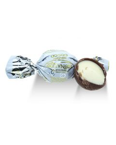 Italian Chocolate Truffles with Coconut Filling (40 pcs)
