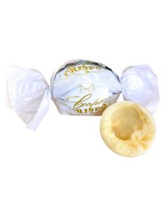 Crid'Or White Chocolate Cereal N'Cream Filled Pralines (1.500 Lbs)