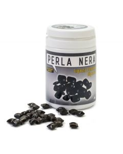Pure Licorice Juice Micro Pastilles Perla Nera 45g Jar (4 pcs)