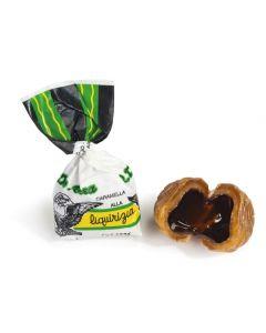 Italian Licorice Candy w/ 6% Pure Licorice Soft Center 180g Bag (Liquirbon) (3 pcs)
