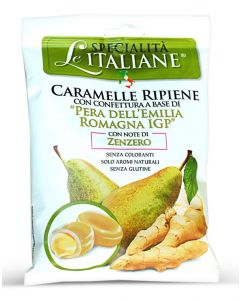 Filled Candy w/ Emilia Romagna Pear - Ripiene Pera Emilia Romagna IGP 100g bag (5 pcs)