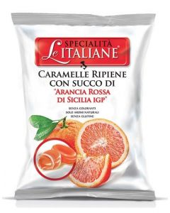 Filled Candy w/ Sicilian Blood orange - Ripiene Arance Rosse Sicilia IGP 100g bag (5 pcs)