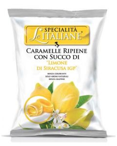Filled Candy w/ Sicilian Lemon - Ripiene Limone di Siracusa IGP 100g bag (5 pcs)
