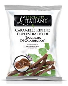 Filled Candy w/ Calabrian Licorice - Ripiene Liquirizia di Calabria DOP 100g bag (5 pcs)