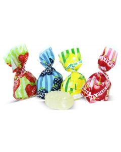 Fruit Filled Candy Assortment - Caramelle assortite ripiene frutta Fantasia (2.200 Lbs)