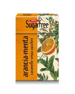 SF Orange Mint Sugar Free Candy 50g Box - Le Erbe: Menta Arancia (5 pcs)