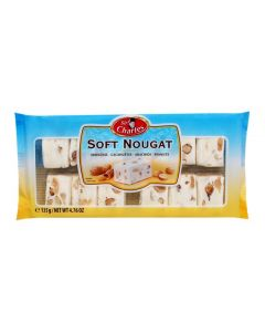 Soft Nougat Snacks Minis With Peanuts 135g Tray (2 pcs)