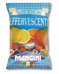 Italian Fruit Filled Fizzy Candy (Effervescenti) 150g bag (5 pcs)