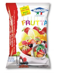 Italian Fruit Jam Filled Candy (Frutta) 150g Bag (5 pcs)