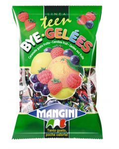 Italian Mini Fruit Jelly Candy (Bye Gelè) 150g Bag (5 pcs)