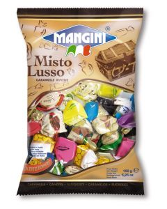 Italian Luxurious Filled Candy Assortment (Misto Lusso) 150g Bag (6 pcs)