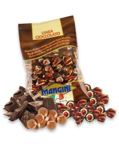 Italian Dark Chocolate Covered Hazelnut (Noccioletto Fondante) 90g Bag (5 pcs)