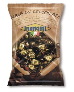 Italian Dark Chocolate Covered Espresso Beans (Perla di Cioccolato) 90g Bag (5 pcs)