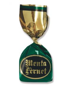 Italian Mint And Herb and Spice Mix Amaro Candy (Menta Fernet Ripieno) (2.200 Lbs)