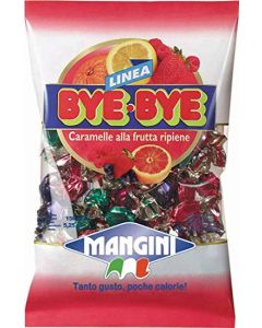 Mangini Italian Mini Fruit Candy (Bye Frutta) 150g bag (5 pcs)
