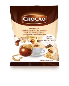 Italian Milk Chocolate  Pralines w/ Capppuccino Cream (1.250 Lbs)