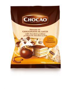 Italian Milk Chocolate  Pralines w/ Tiramisu Cream (1.250 Lbs)