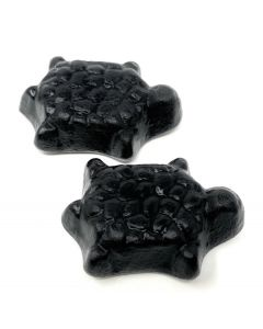 Italian Tartarughe Soft Black licorice Turtle With Anise Extract (2.200 Lbs)