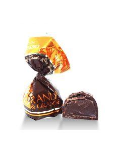 Dk Chocolate Praline w/ Brandy & Orange (1.750 Lbs)