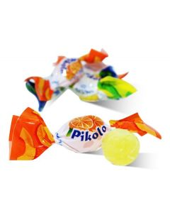 Pikolo Mini Assorted Fruit hard Candy (1.750 Lbs)