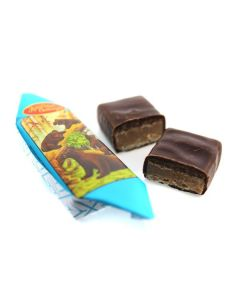Mishka Kosolap Dk Chocolate Nuts & Wafers (1 Lbs)