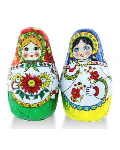 Milk Chocolate Ksusha Russian Dolls (2 Lbs)