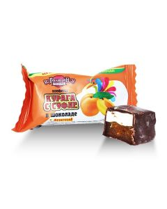 Golitsyn Dark Choc Souffle/Apricot w/ Fructose (35 pcs)