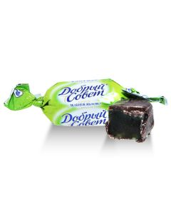 Good Advice Dark Choc Fruit Jelly Candy w/ Green Apple (2 Lbs)