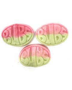 Oval Watermelon Foam Gummy (Vettenmelon ovaler) (2.200 Lbs)
