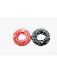 Strawberry And Licorice Wheels (Dragster Jordgubb/Lakrits) (2 Lbs)