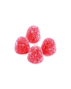 Wild Strawberry Mini Gumdrops (Sma Smultron) (2 Lbs)