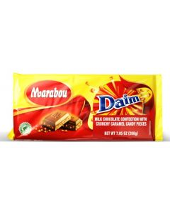 Milk Choc w Daim pieces bar  7.05oz (4 pcs)