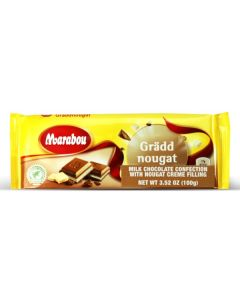 Milk Chcolate Cream Nougat Bar 3.52oz (5 pcs)