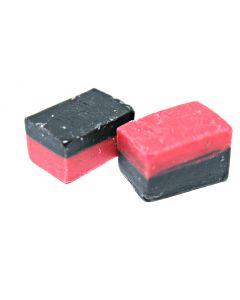 Raspberry Licorice Fudge (Hallon/Lakrits Fudge) (2 Lbs)