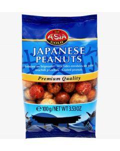 Japanese peanuts - coated peanuts 100g Bag (3 pcs)
