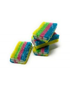 Rainbow Bricks Licorice (2.200 Lbs)